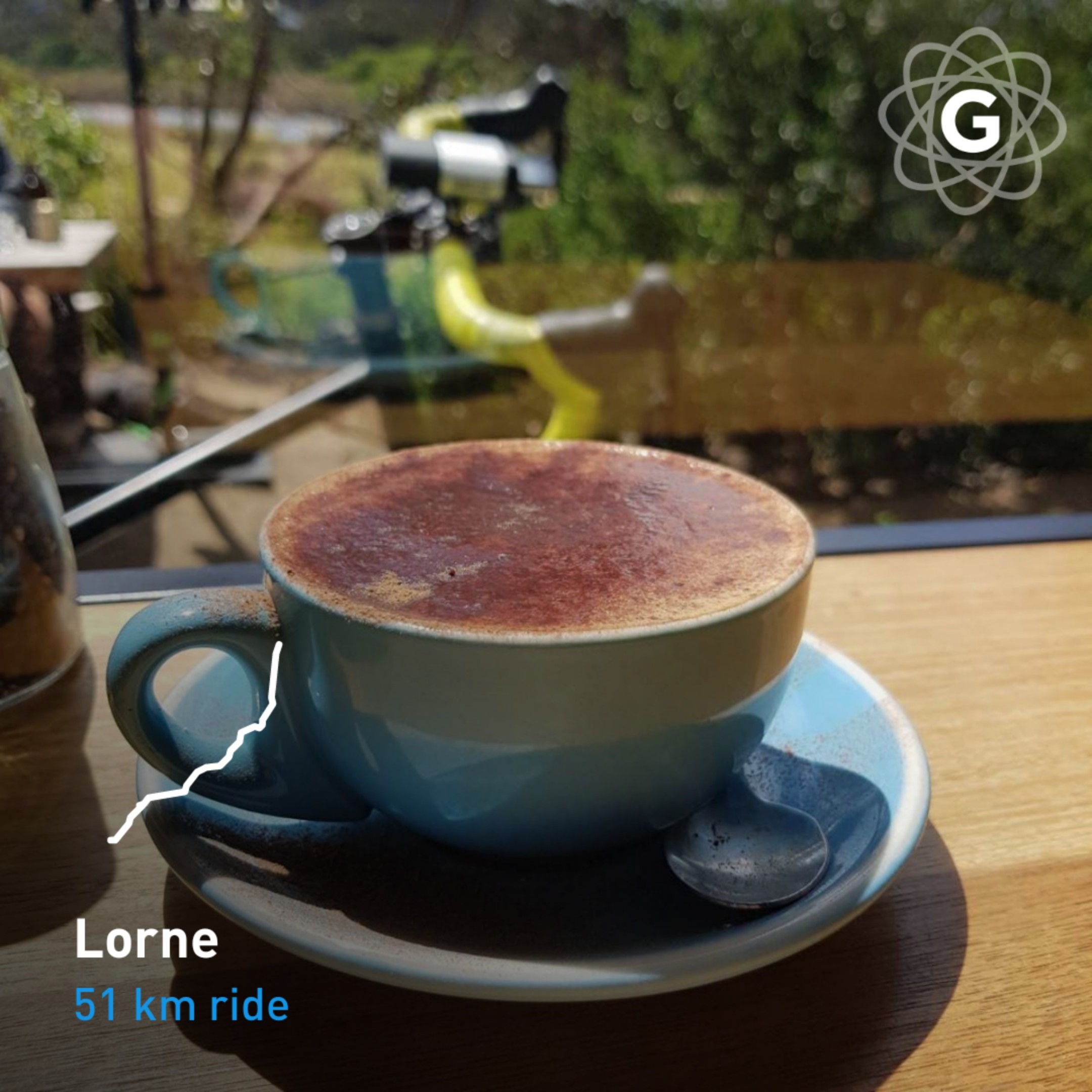 Coffeeneuring 2018 no. 4 — The Great Ocean Road, the wind, the coffee
